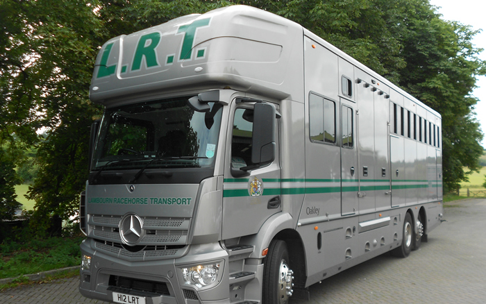 Lambourn Racehorse Transport